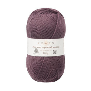 Pure Wool Superwash Worsted -gomitolo Rowan - Justknit