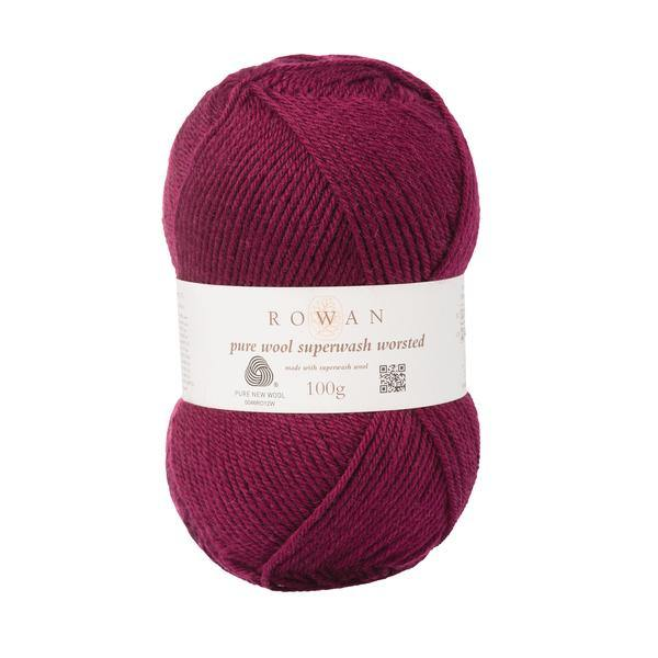 Pure Wool Superwash Worsted