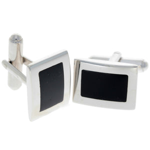 925 Sterling Silver & Baltic Amber Classic Cufflinks - AAC005