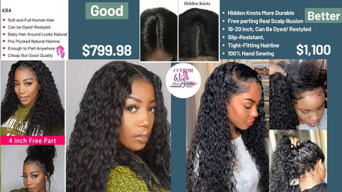 Curly Lace Front Wigs Human Hair Wigs Pre Plucked Natural Hairline alopecia wig
