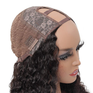 Custom Made Wig Brazilian Deep Wave Protective Style Sew In