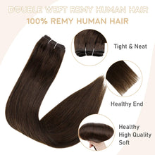 Load image into Gallery viewer, Remy Hair Weft Bundles Brazilian Human Hair +Add My Professional Sew in Hair Extensions Application Salon Service