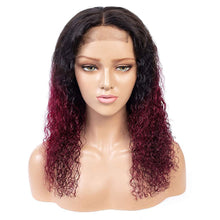 Load image into Gallery viewer, 99J Burgundy Color Lace Front custom-wigs-extensions-toupee-hair-pieces-hair-solutions