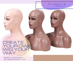 Create Your Own Custom Wig ( Protective Style Hair System) Miranda