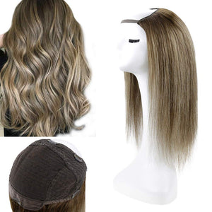 "20"" Clip In Hair Extensions Custom Real Human Hair System Ready2Wear"