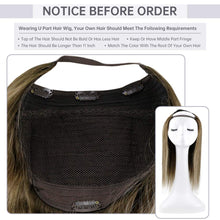 "Load image into Gallery viewer, 20"" Clip In Hair Extensions Custom Real Human Hair System Ready2Wear"