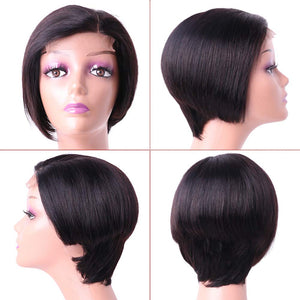 Custom Made Wig Pixie Cut Short Bob