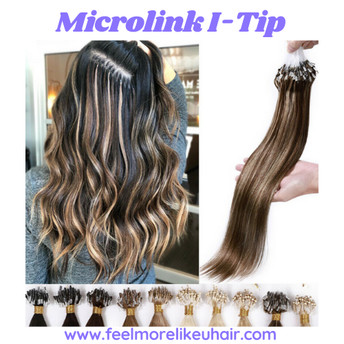 I-Tip Microlink Hair Extensions >Professional Install Application Service with a FMLU Licensed Certified Hair Extension Expert