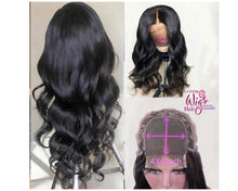 Load image into Gallery viewer, Custom Made Body Wave Front Lace Wig Ready 2 Wear Collection