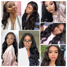 Load image into Gallery viewer, Sunday Lace Front Wig Glueless Long Wavy with Natural Hairline Synthetic Heat Resistant 22 Inches