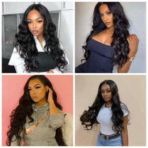 Sunday Lace Front Wig Glueless Long Wavy with Natural Hairline Synthetic Heat Resistant 22 Inches