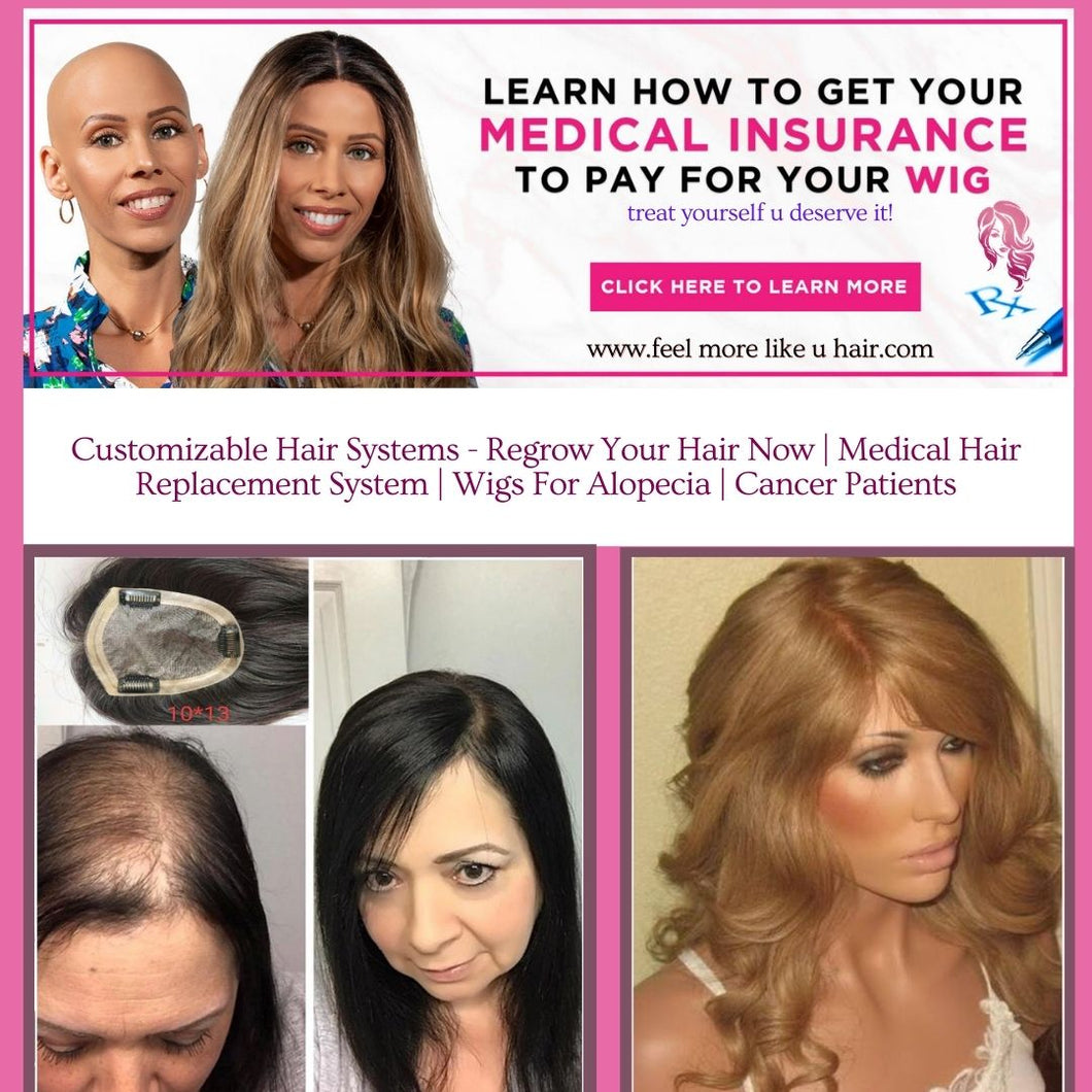HF-Scalp Treatment & Custom Made Wig  Pickup with KiaStyles  Appointment