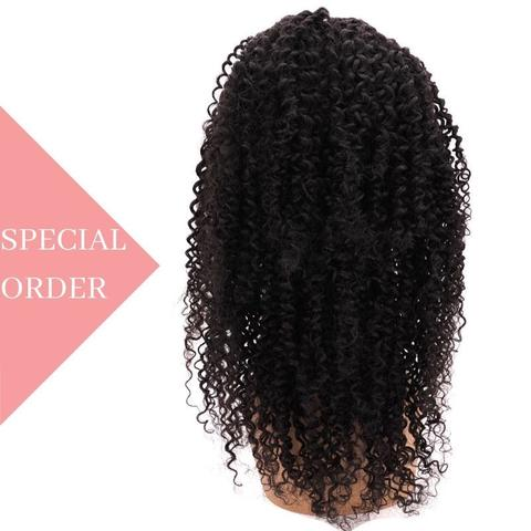 Copy of variants Brazilian Afro Kinky Front Lace Wig