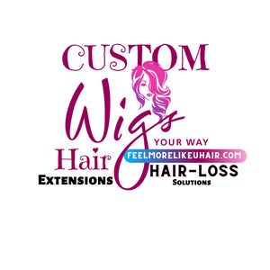 Custom Made Wig Hair System 100% Premium Virgin Human Hair