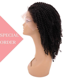 Brazilian Extra Kinky Curly Front Lace Wig