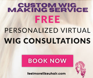 Create your own Custom Made Hair System Extensions & Wig Service