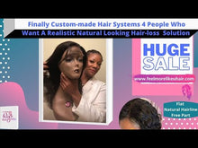 Load and play video in Gallery viewer, #Custom Made #Wig 14 inch Body Wave Human Hair Lace Front Hair System Finally, Affordable Already #CustomFitting Natural Looking #Humanhair #Hairloss Solutions.This is for you that want A really good quality, realistic, human hair wig hair system that actually looks bomb.