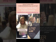 Load and play video in Gallery viewer, Natural Looking Solutions For Very Thin Hair Salon Hair Extension Services | We Supply Your Hair