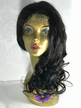 Load image into Gallery viewer, #Custom Made #Wig 14 inch Body Wave Human Hair Lace Front Hair System Finally, Affordable Already #CustomFitting Natural Looking #Humanhair #Hairloss Solutions.This is for you that want A really good quality, realistic, human hair wig hair system that actually looks bomb.
