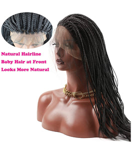 Glueless Micro Braid Lace Front Specialty Wigs