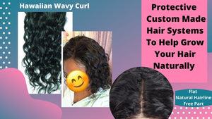 12 inch Curly Custom Made Wig Hair System