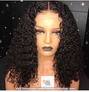 Full Lace Front Wig-Raw Cambodian Softkinks Curly Bob wig Visit Store www.feelmorelikeuhair.com