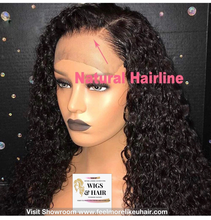 Load image into Gallery viewer, Full Lace Front Wig-Raw Cambodian Softkinks Curly Bob wig Visit Store www.feelmorelikeuhair.com