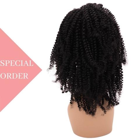 Brazilian Jerry Curl Front Lace Wig