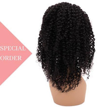Load image into Gallery viewer, Brazilian Kinky Curly Front Lace Wig