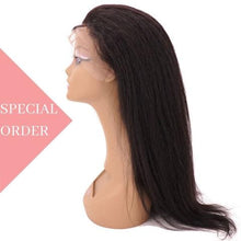 Load image into Gallery viewer, Brazilian Kinky Straight Front Lace Wig