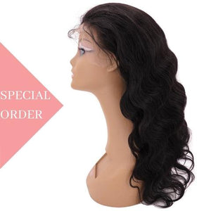 Brazilian Natural Wave Front Lace Wig