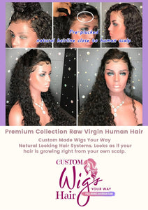 Custom Made Medical Wig(Create Your Own) | Certified Medical Units.