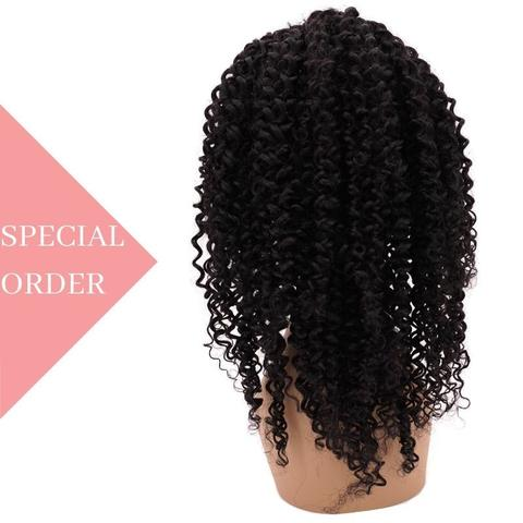 Brazilian Tight Curl Lace Front Wig