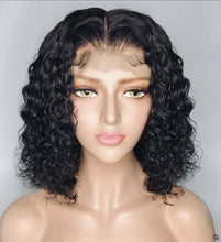 Load image into Gallery viewer, Carmen- Short Wet n Wavy 100% Human Hair Wig with Professional Precut Service