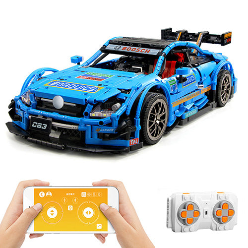 Technic Car for C 63 Model, 1989 pcs Technic Building Bloc Sports Car Custom Construction Toys