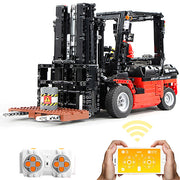 Technic Forklift Truck, 1719 pcs Custom Building Bloc with Power Functions Construction Toys