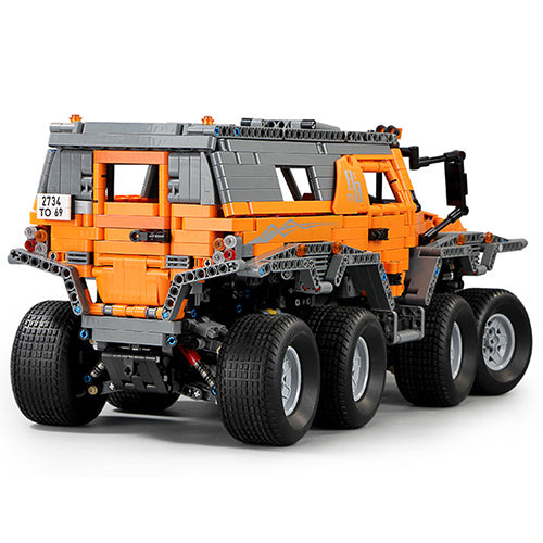 Technic Offroader 8x8 Offroader Model, 2578 pcs Technic Building Bloc with Motorised kit
