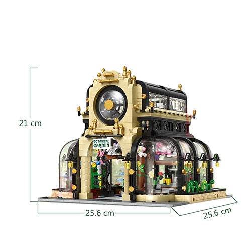 2147Pcs Botanical Garden Building Blocks Custom Construction Toys
