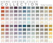 Carica l'immagine nel visualizzatore di Gallery, HOME DESIGN COLOR COLLECTION – 120 Tinte (@2020 Covema) - ColorSample - Foglietto singolo colore - Formato (23 x 15 cm) – 443.x (01-05)