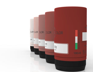HOME DESIGN COLOR COLLECTION (@2020) - ColorTester  - Campioni liquidi dei 120 colori - 100 ml – 424.x (01-05)