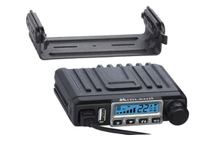 Midland MXT115AGVP3 15W GMRS Micro Mobile Radio with 3dB Gain Low Profile Antenna