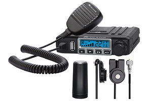 Midland MXT115VP3 15W GMRS Micro Mobile Radio with 3dB Gain Low Profile Antenna