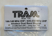 Load image into Gallery viewer, Tram Dual Band Magnetic Mount Antenna Kit