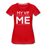 My vp tee - red
