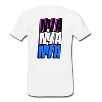NYA Back Logo Tee - white