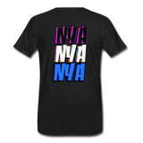 NYA Back Logo Tee - black
