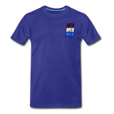 NYA Back Logo Tee - royal blue