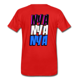NYA Back Logo Tee - red
