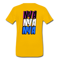 NYA Back Logo Tee - sun yellow