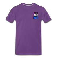 NYA Back Logo Tee - purple